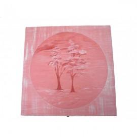 Bo te th bois 9 compartiments aux arbres - Boite a the 9 compartiments ...
